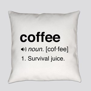 Coffee definition Everyday Pillow