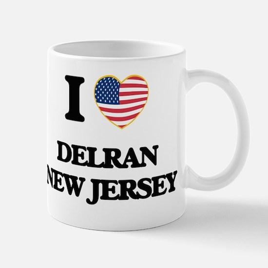 I love Delran New Jersey Mug