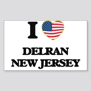 I love Delran New Jersey Sticker