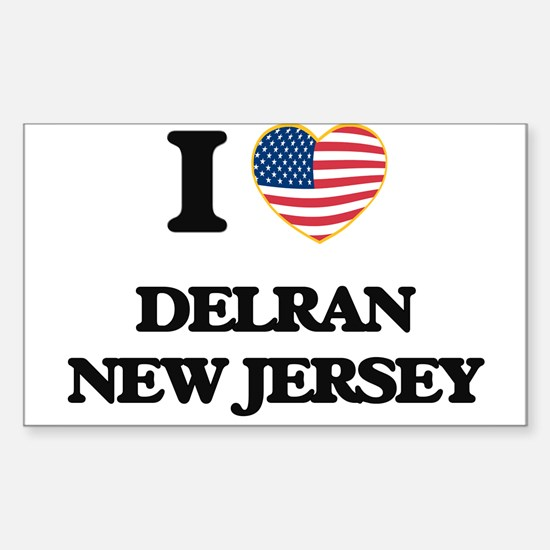 I love Delran New Jersey Decal