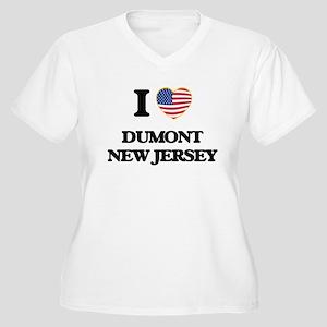 I love Dumont New Jersey Plus Size T-Shirt