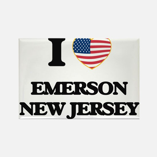 I love Emerson New Jersey Magnets