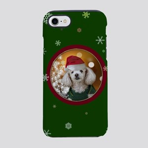 Christmas Toy Poodle iPhone 7 Tough Case