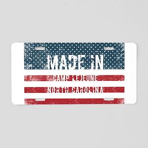 Made in Camp Lejeune, North Aluminum License Plate