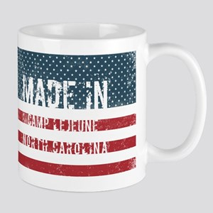 Made in Camp Lejeune, North Carolina Mugs