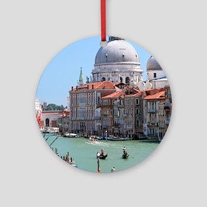 Iconic! Grand Canal Venice Pro Photo Ornament (Rou