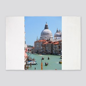 Iconic! Grand Canal Venice Pro Photo 5'x7'Area Rug