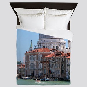 Iconic! Grand Canal Venice Pro Photo Queen Duvet
