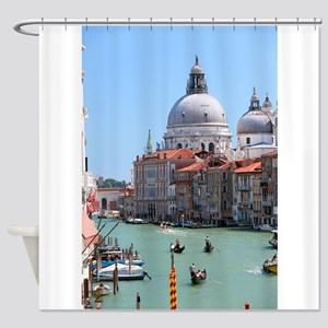 Iconic! Grand Canal Venice Pro Photo Shower Curtai