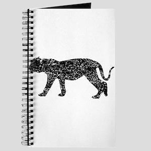Distressed Puma Silhouette Journal