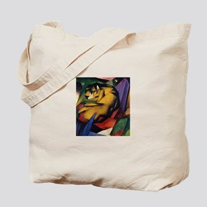 The Tiger by Franz Marc Tote Bag