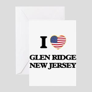 I love Glen Ridge New Jersey Greeting Cards