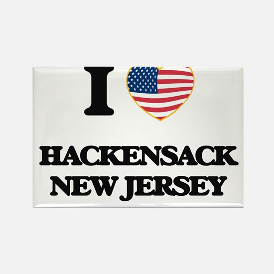 I love Hackensack New Jersey Magnets