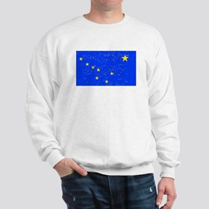Alaska State Flag (Distressed) Sweatshirt