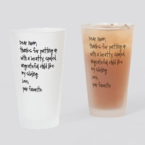 Your Favorite Drinking Glass