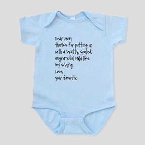 Your Favorite Baby Light Bodysuit