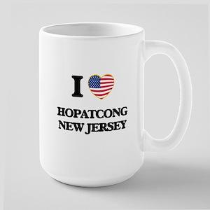 I love Hopatcong New Jersey Mugs