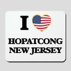 I love Hopatcong New Jersey Mousepad