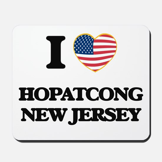 I love Hopatcong New Jersey Mousepad