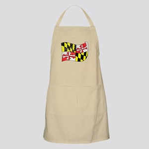 Maryland State Flag (Distressed) Apron