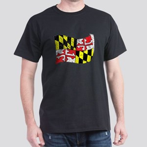 Maryland State Flag (Distressed) T-Shirt