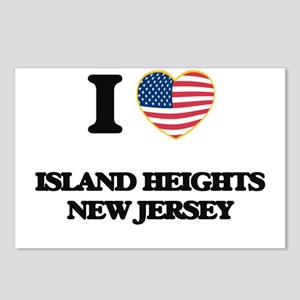 I love Island Heights New Postcards (Package of 8)