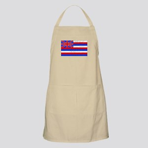 Hawaii State Flag (Distressed) Apron
