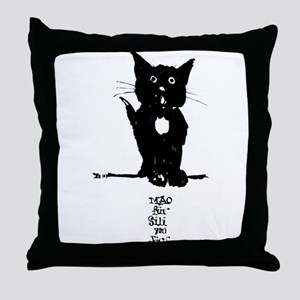 Cat by Doeberl Throw Pillow