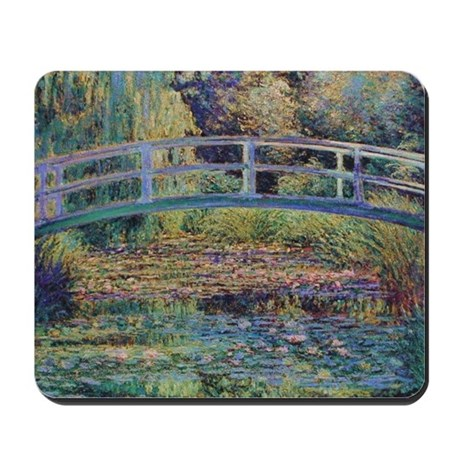 Water Lily Pond by Monet Mousepad