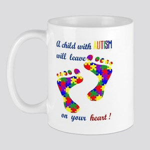 Footprints on your heart Mug
