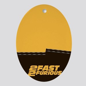 2 Fast 2 Furious Movie inspire Quo Ornament (Oval)