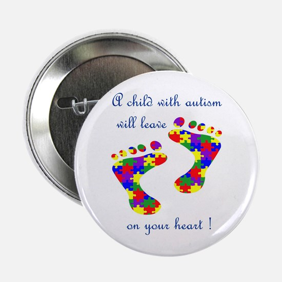 Footprints on your heart Button