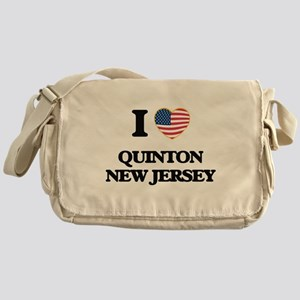 I love Quinton New Jersey Messenger Bag