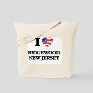 I love Ridgewood New Jersey Tote Bag