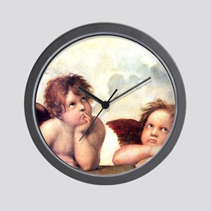 Chubby Cherubs Wall Clock