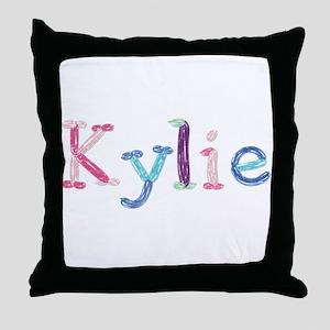 Kylie Princess Balloons Throw Pillow