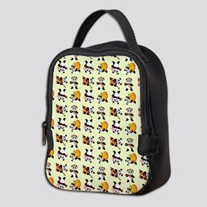 PANDA BEARS Neoprene Lunch Bag