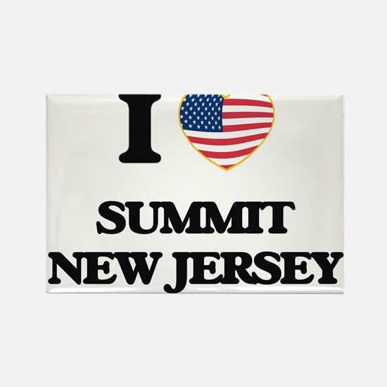 I love Summit New Jersey Magnets