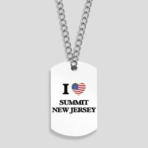 I love Summit New Jersey Dog Tags