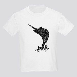 Distressed Marlin Silhouette T-Shirt