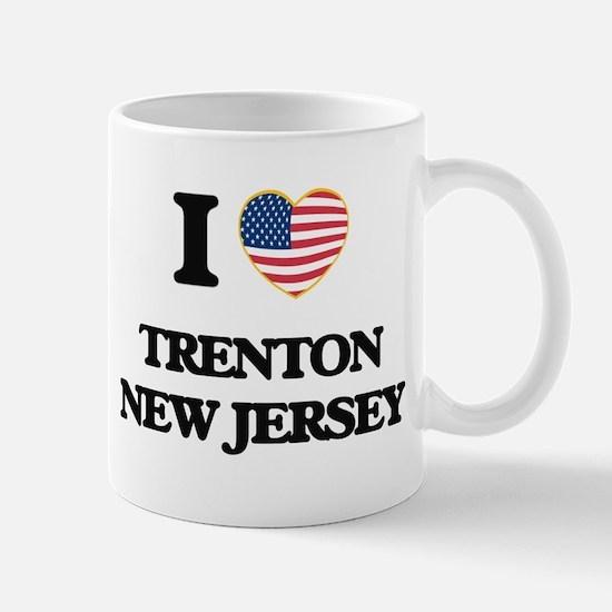 I love Trenton New Jersey Mugs