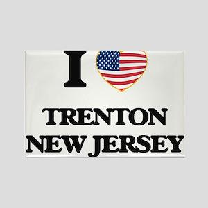 I love Trenton New Jersey Magnets