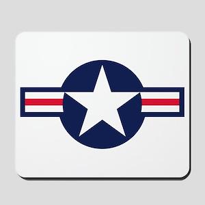 US Navy Emblem Mousepad