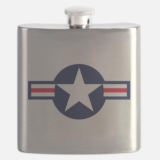 US Navy Emblem Flask