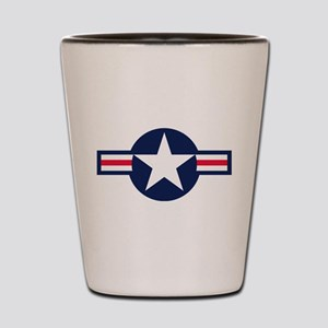 US Navy Emblem Shot Glass