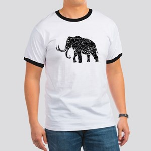 Distressed Mammoth Silhouette T-Shirt