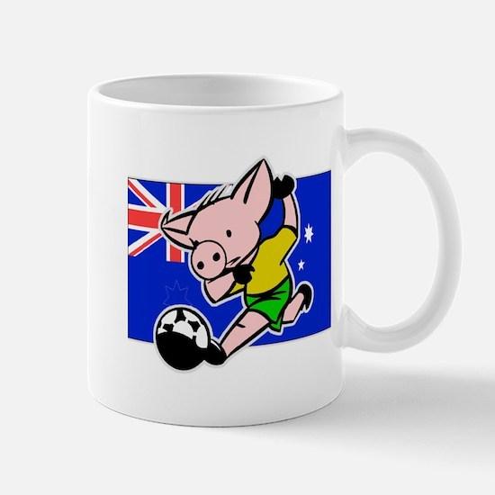Australia Soccer Pigs Mug