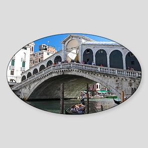 Venice Gift Store Pro Photo Sticker (Oval)