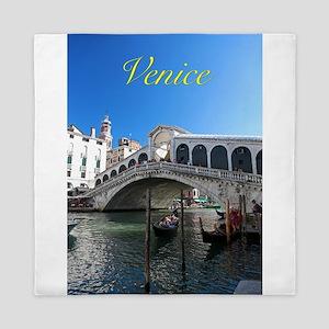 Venice Gift Store Pro Photo Queen Duvet