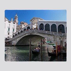 Venice Gift Store Pro Photo Throw Blanket